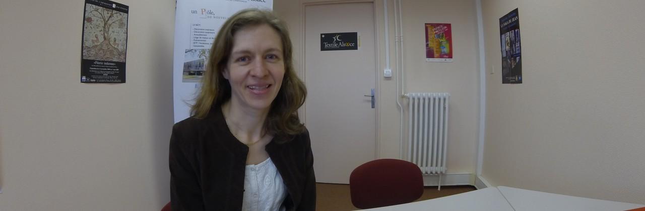 Isabelle TALABARDON, Ingénieur Textile, rejoint le Pôle Textile Alsace