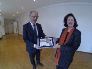 H6 Markus Schwyn Président du Pôle textile Alsace et Président de la société KERMEL,Colmar.