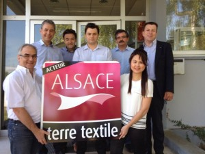 Acteurs Alsace terre textile