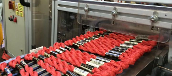 Semaine textile : DMC à Mulhouse le 16/07/2014