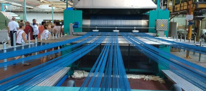 Semaine textile : Emanuel Lang à Hirsingue le 16/07/2014