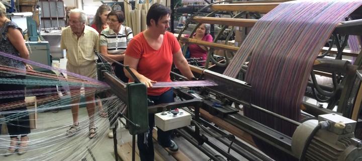 Semaine textile : Tissage des Chaumes le 21/07/2014