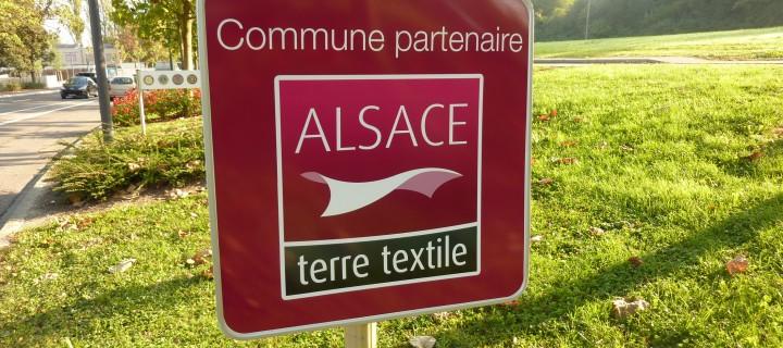 """Opération """"Commune partenaire"""" Alsace terre textile"""