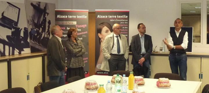 Saint-Amarin, Fellering et Malmerspach «communes partenaires Alsace terre textile»