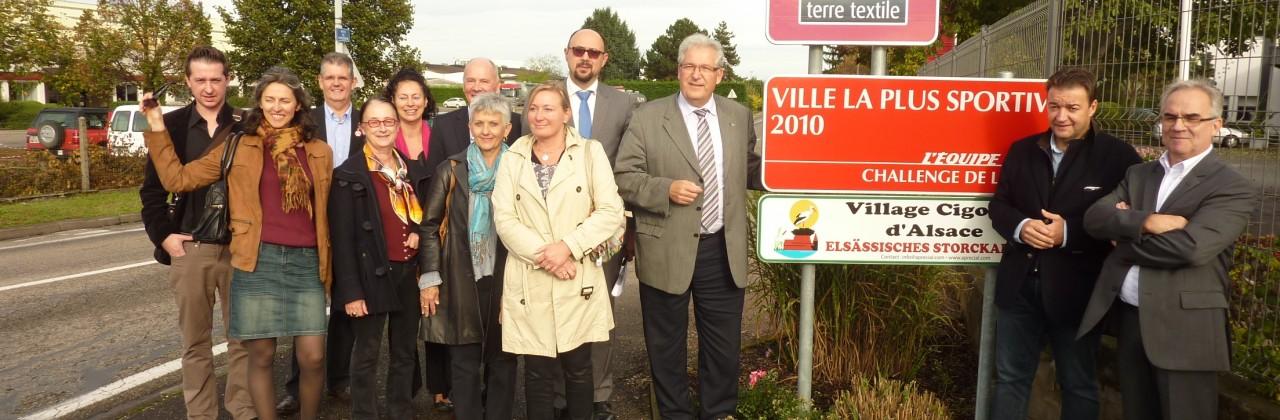 Sélestat Commune partenaire Alsace terre textile