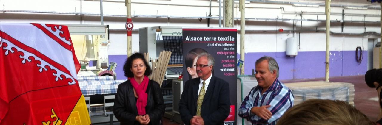 Hirsingue Commune Partenaire Alsace terre textile