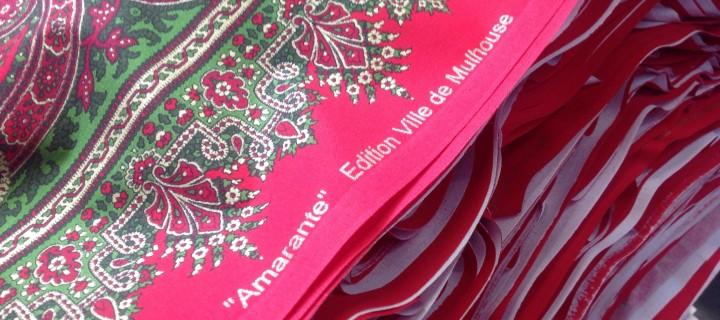 Quatre entreprises agrées Alsace terre textile à la boutique aux étoffes ce weekend