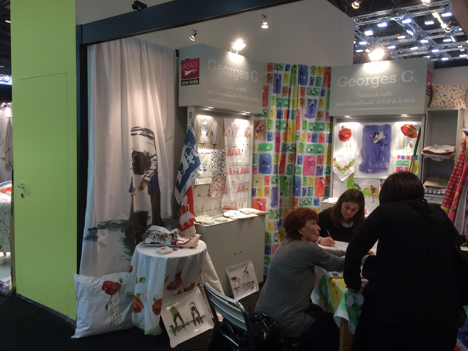 Sempatap pr sente au salon maison objets 2015 blog du for Salon du textile