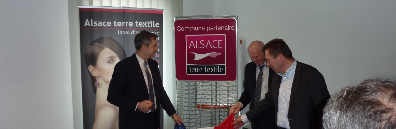 Guebwiller «Commune Partenaire Alsace terre textile»