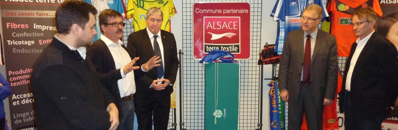 Thann et Vieux Thann, Communes Partenaires Alsace terre textile