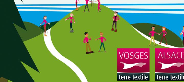 3 octobre : rencontre festive «au sommet» des labels « Alsace terre textile » et « Vosges terre textile »