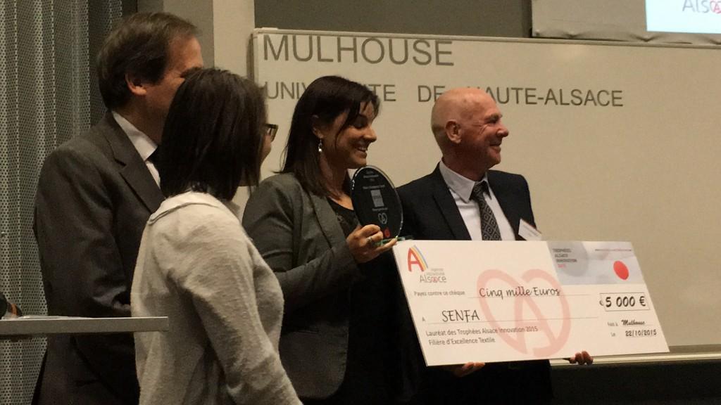 SENFA lauréate du trophée Alsace innovation