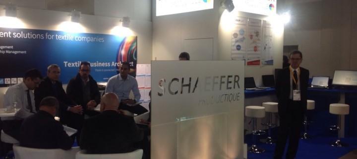 La société Schaeffer Productique était présente lors du salon ITMA 2015 à Milan