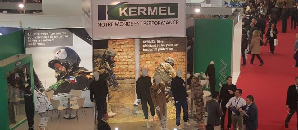 La société Kermel exposait lors du salon MILIPOL Paris