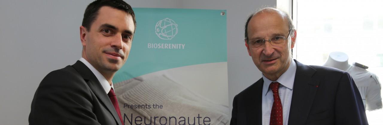 Innothéra et BioSerenity signent un partenariat R&D et industriel