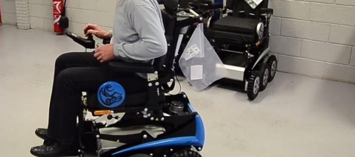 Un fauteuil roulant connecté développé en Alsace : le «smart chair»