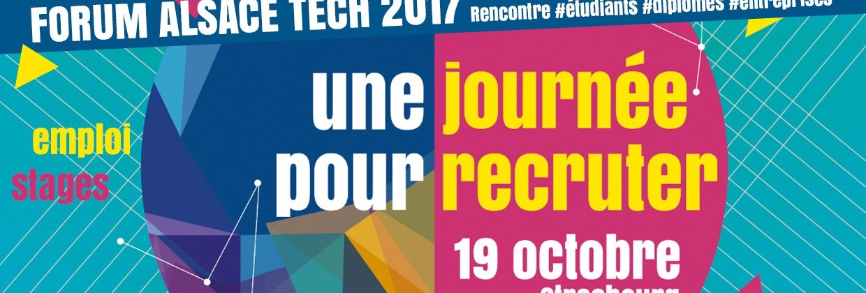 Forum Alsace Tech 19 octobre 2017