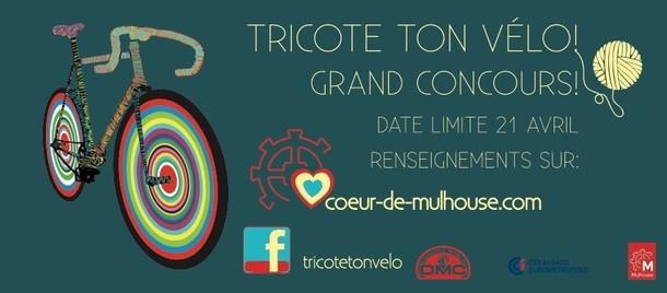 Tricote ton vélo : Grand Concours, Mulhouse