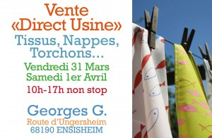 Georges G - Vente usine printemps 2017