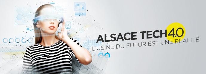 Appel à projets ALSACE TECH 4.0 – Usine du Futur