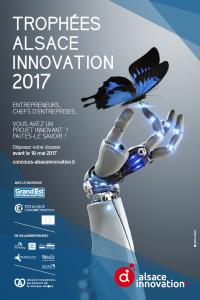 affiche Trophées Alsace Innovation -2017