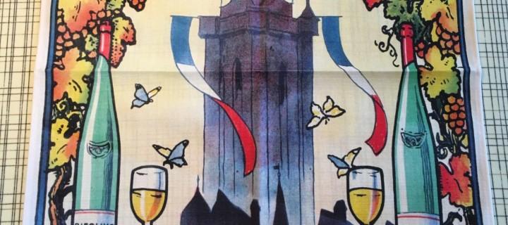 70ème édition Foire aux Vins : torchon édité par GEORGES G
