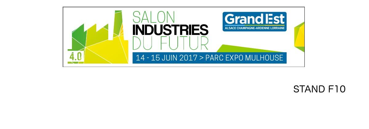 Le réseau du Pôle Textile sera présent les 14 et 15 juin 2017 avec un collectif d'entreprises sur le salon Industries du Futur du Grand Est.