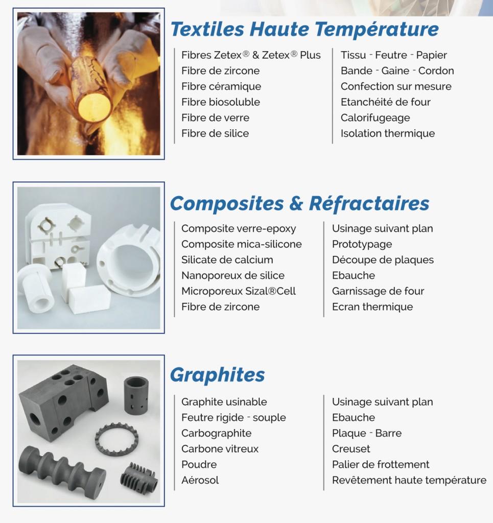 textiles-haute-temperature-composites-refractaires-graphites