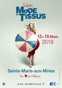 Affiche Mode et Tissus 2018
