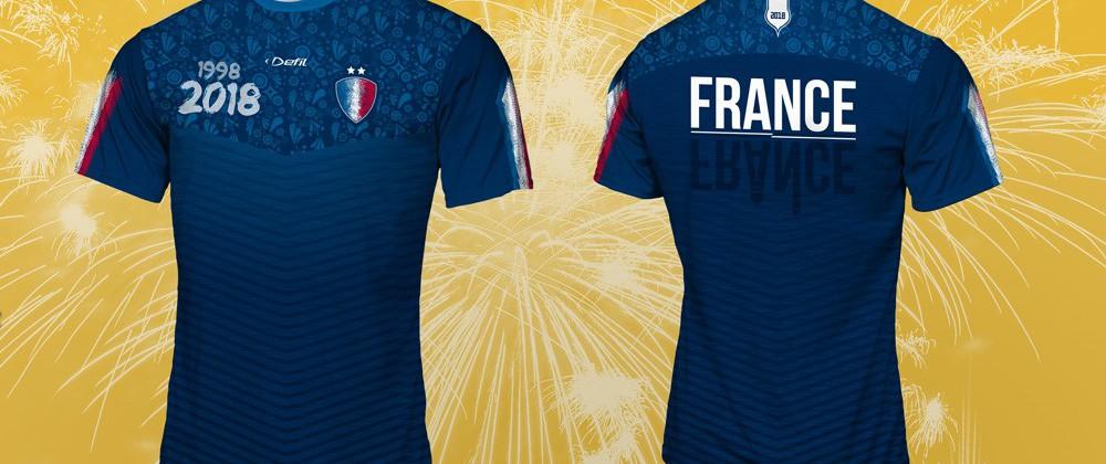 Le maillot des Bleus, fabriqué en Alsace chez Defil