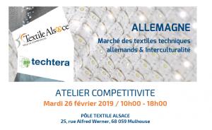 Atelier compétitivité Textiles Allemagne 26.02.2019