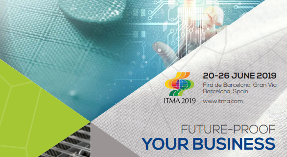 Visite du salon international ITMA, Barcelone du 22 au 24 juin 2019