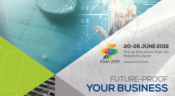 Visite du salon international ITMA, Barcelone du 22 au 24 juin 2019