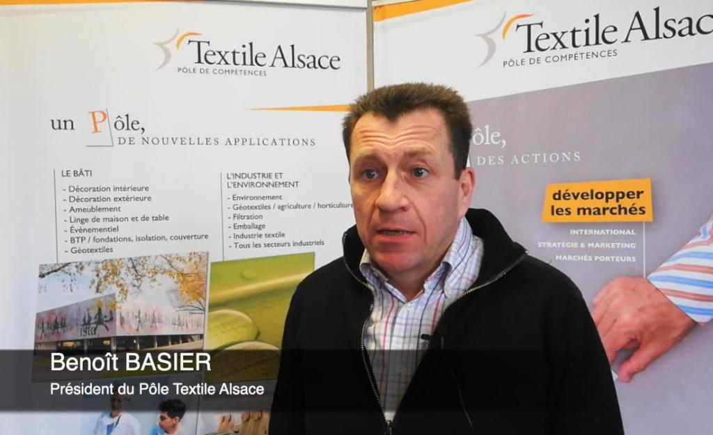 Benoit BASIER, Président du Pôle Textile Alsace