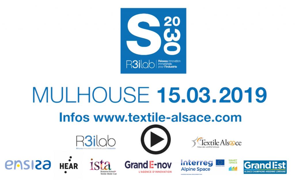 Scenarii 2030 - Pôle Textile Alsace 15.03.2019