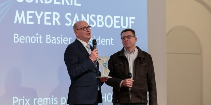 La Corderie Meyer Sansboeuf, lauréate des coups de cœur de l'ADIRA 2019