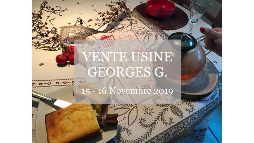 vente usine Georges G. - novembre