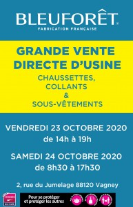 BF_ Braderie Vagney_ 23 et 24 octobre 2020_ Affiche Vosges Matin