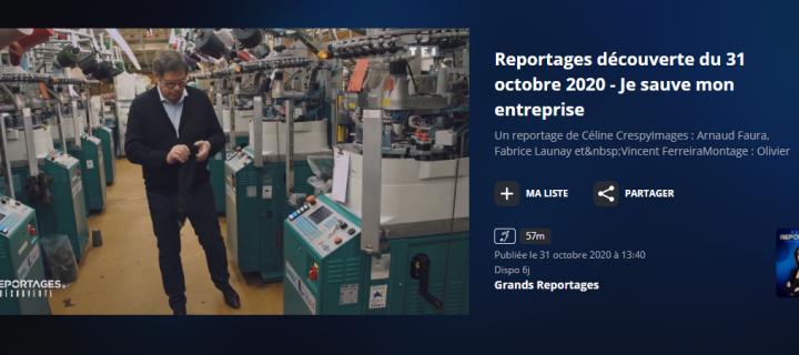 TF1 – Grands Reportages a suivi les équipes de LABONAL, pendant 1 an : « Je veux sauver mon entreprise » ou comment retrouver l'espoir en ces temps de crise.
