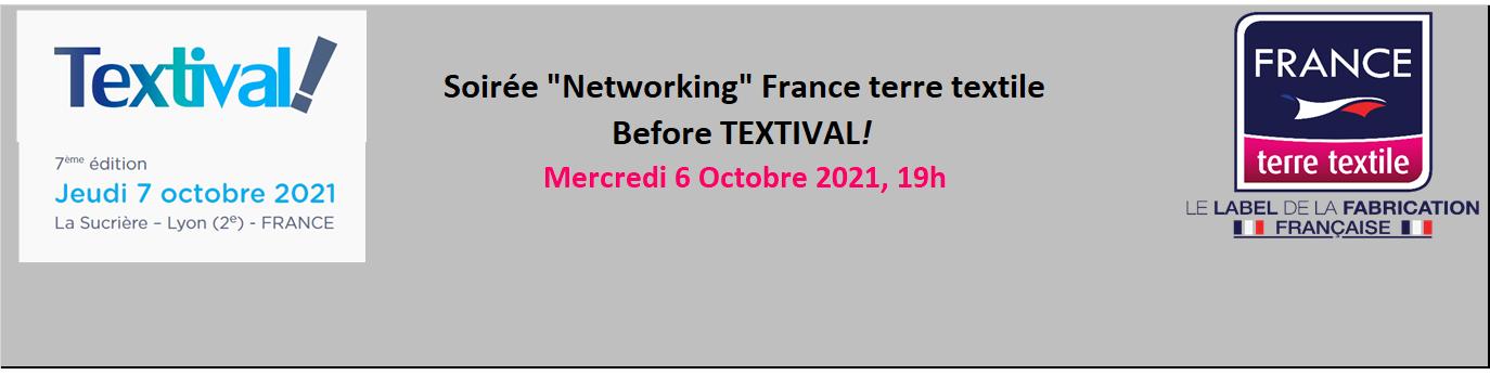 Before Textival 2021 - Réservé aux entreprises agréées France Terre Textile